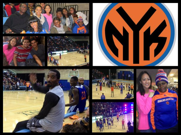ALIZE COLLAGE KNICKS!